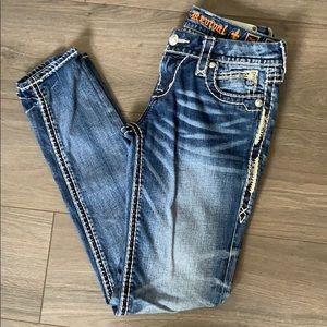Rock revival Phyllis easy skinny Sz 26 jeans